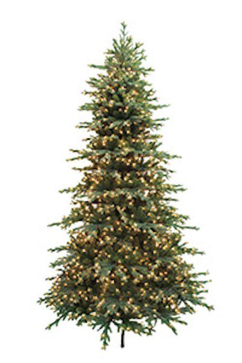 Bryce Canyon Slim Pre Lit Christmas Tree