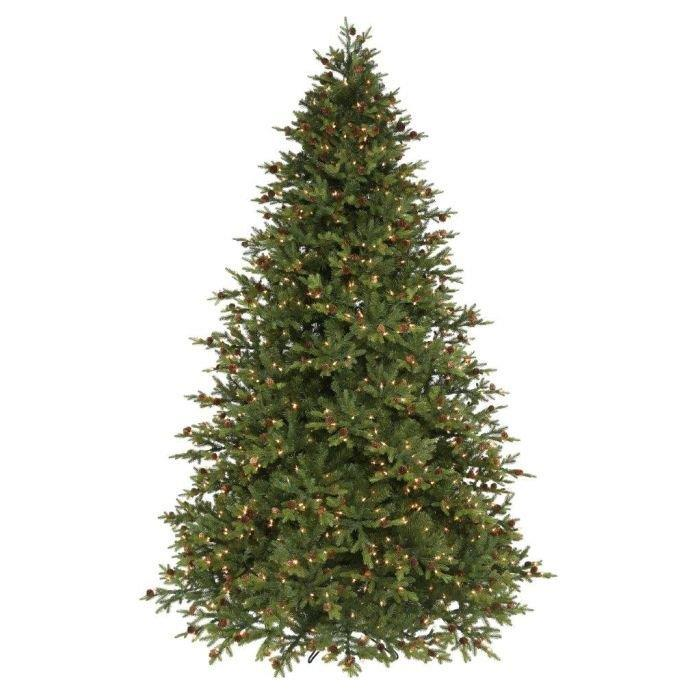 12 Best Flocked Fake Christmas Trees Images On Multi Colored Pre Lit