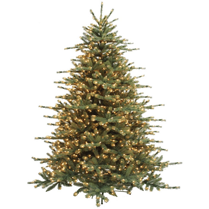 grand-spruce-pre-lit-artificial-christmas-tree - Grand Spruce Pre-Lit Artificial Christmas Tree - Christmas Store
