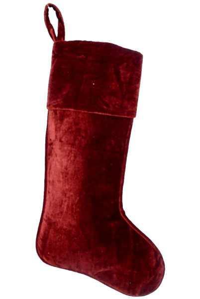 red velvet stocking home decor - Red Velvet Christmas Stockings