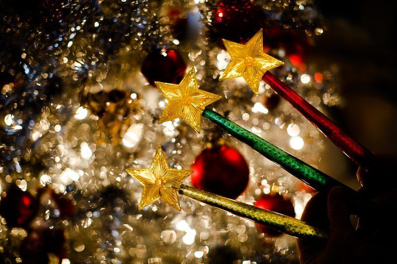 Magic Light Wand With Light and Sound Light Up Your Christmas ...