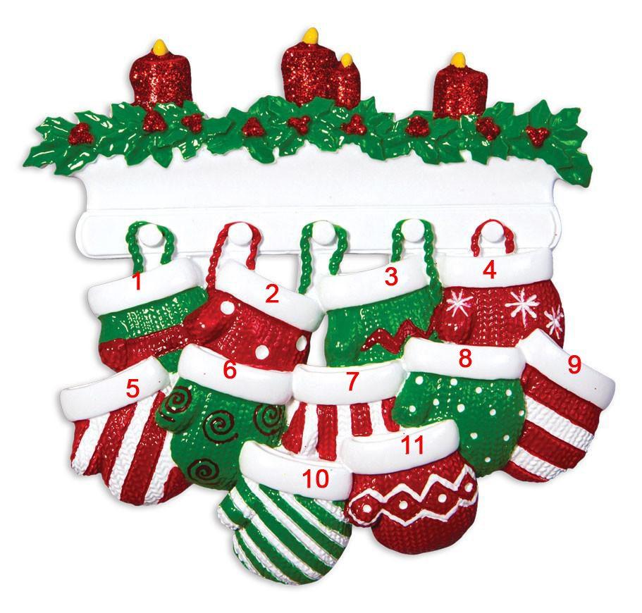 christmas ornaments - Christmas Mittens