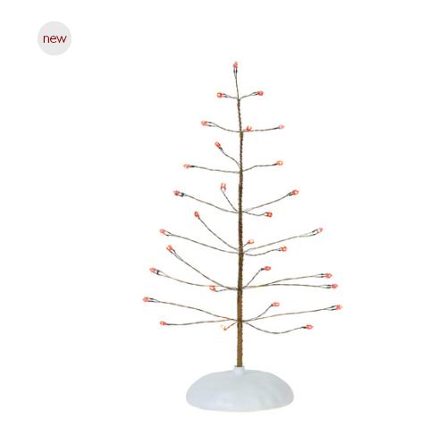 Department 56 Christmas Tree.Department 56 Twinkle Brite Tree Red