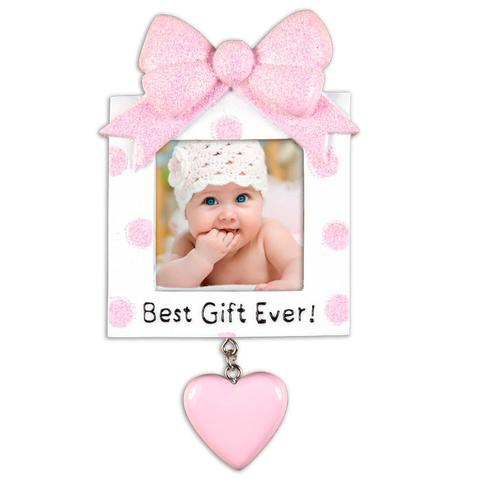 first christmas frame ornament baby