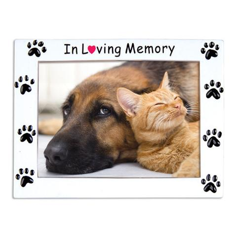 In Loving Memory Pet Picture Frame Ornament - Christmas Store