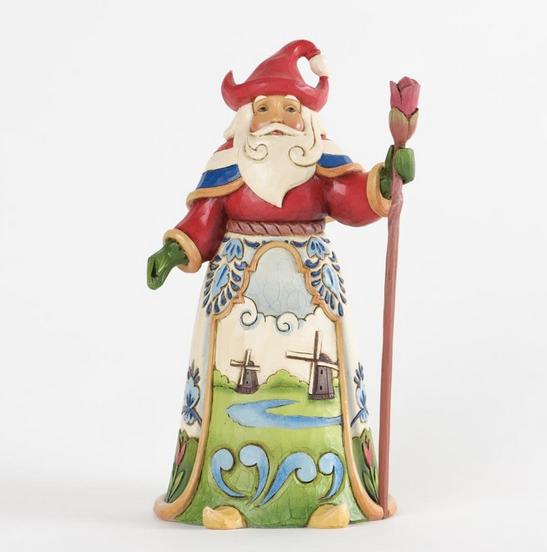 Jim Shore Dutch Santa Figurine Christmas Store
