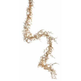 Gold, Silver, Or Platinum Glitter Sparkling Angel Fern Garland