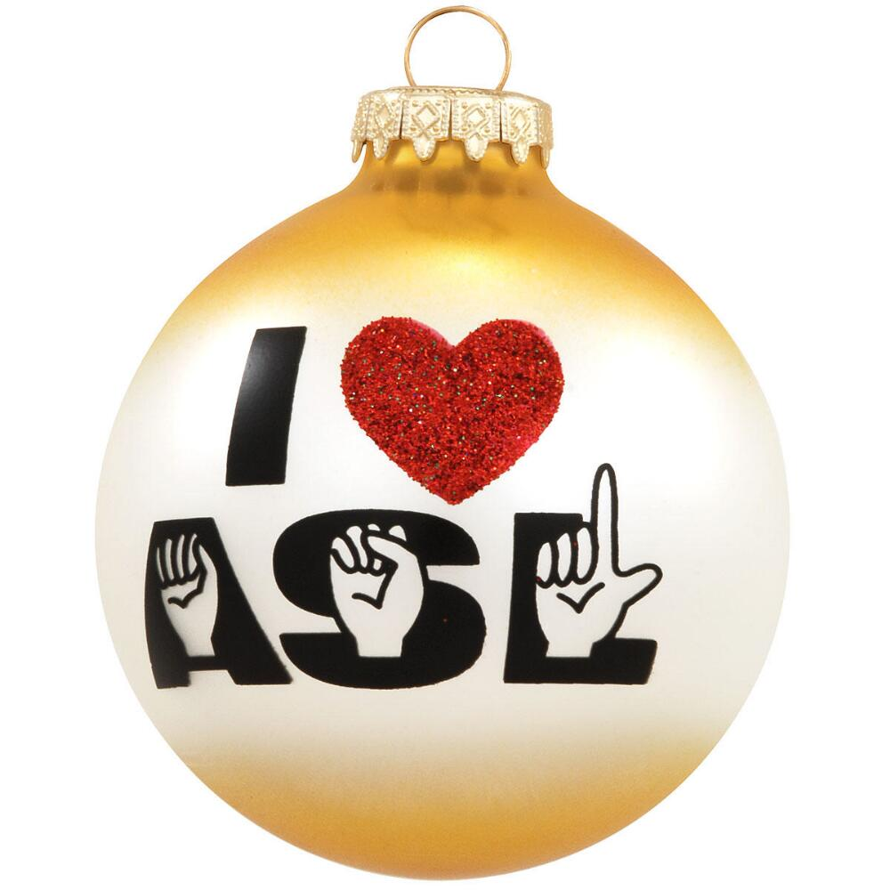 christmas ornaments - Asl Christmas