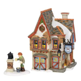 department 56 dickens welcoming christmas gift set