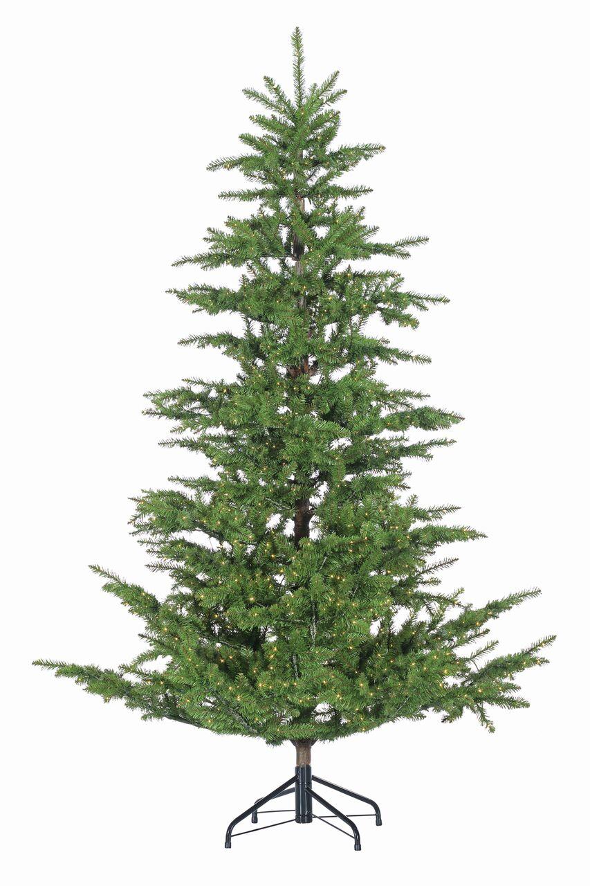Aspen Pine Pre-Lit Rice Light Artificial Christmas Tree - Christmas ...