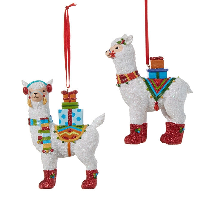 HomeChristmas OrnamentsAnimalsChristmas Llama Ornaments. 🔍. Animals ... - Christmas Llama Ornaments - Christmas Store