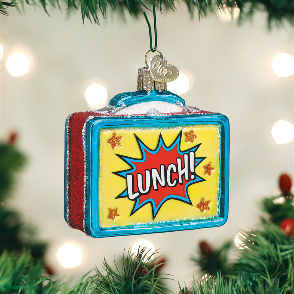 Old World Christmas Lunchbox Ornament