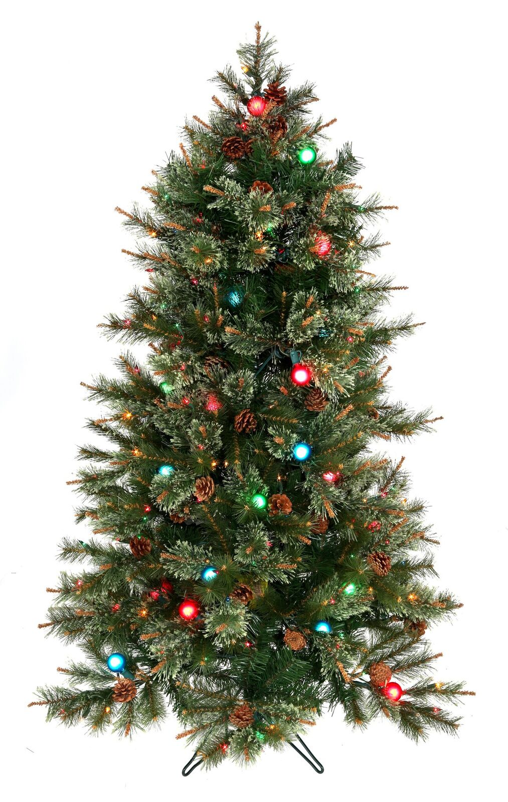 Christmas Trees Images.Cottonwood Twinkle And G40 Pre Lit Artificial Christmas Tree