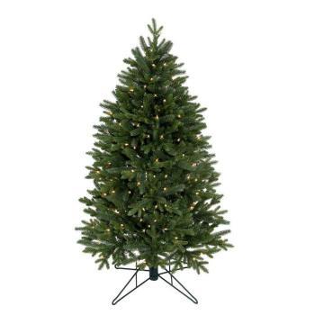 lenox pre lit slim artificial christmas tree