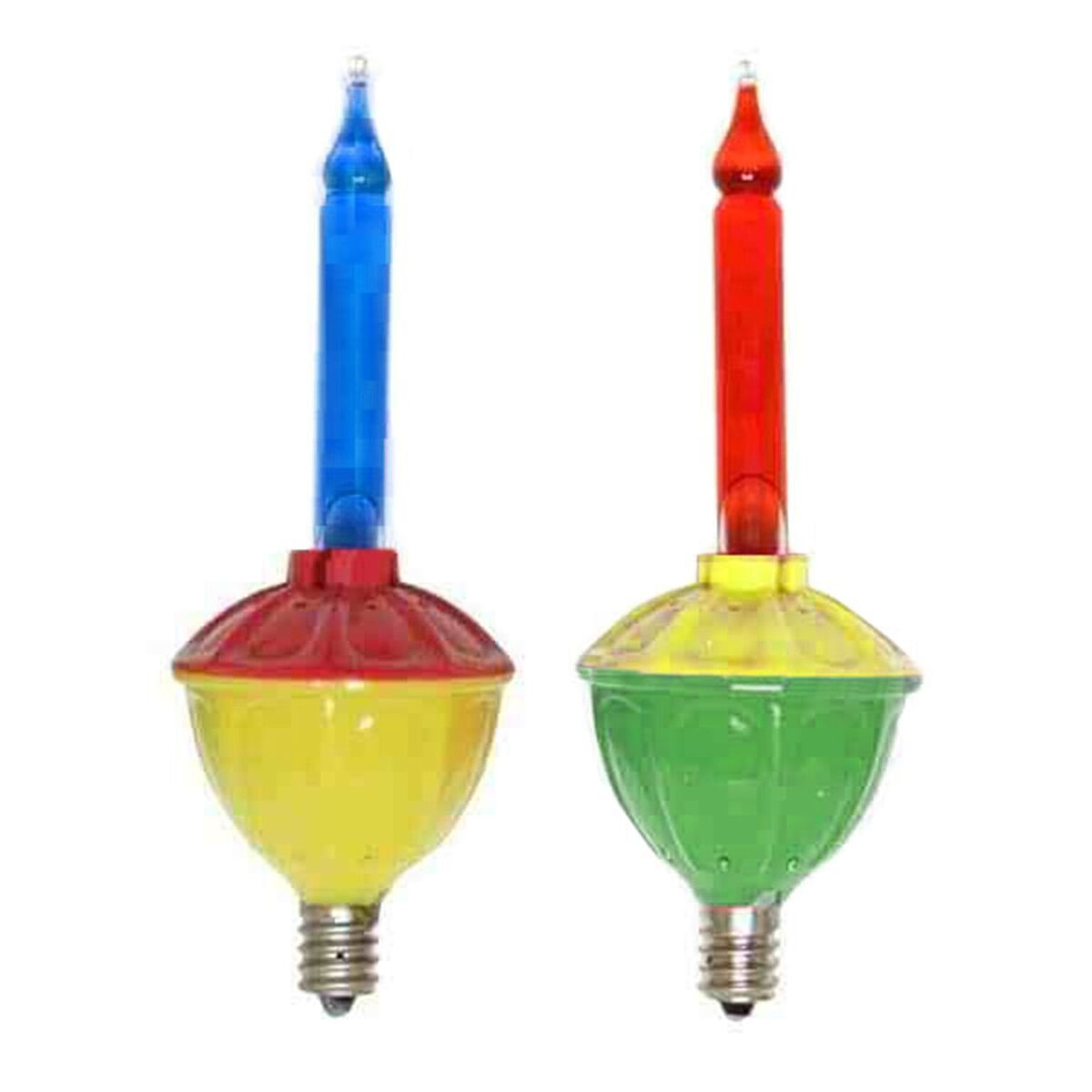 Set Of 2 C7 Bubble Light Replacement Bulbs
