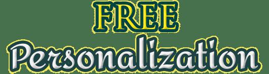 Free Personalization