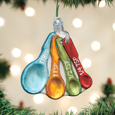 Old World Christmas Ornaments Canoe Glass Blown Ornaments for Christmas Tree