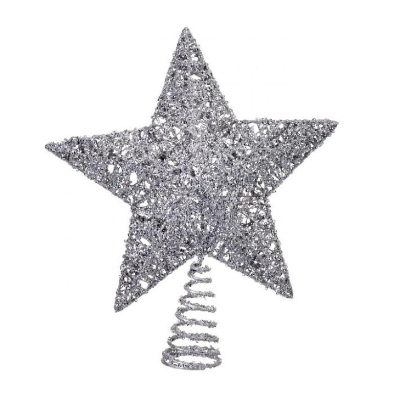 Tree Topper Glitter Sequin Star