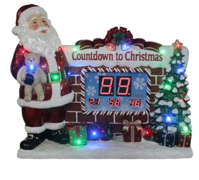 Santa Countdown Clock – Christmas Store
