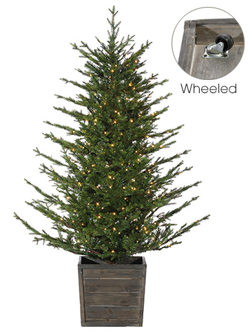 Artificial Christmas Tree Branches.Deluxe Russian Pine Pre Lit Artificial Christmas Tree