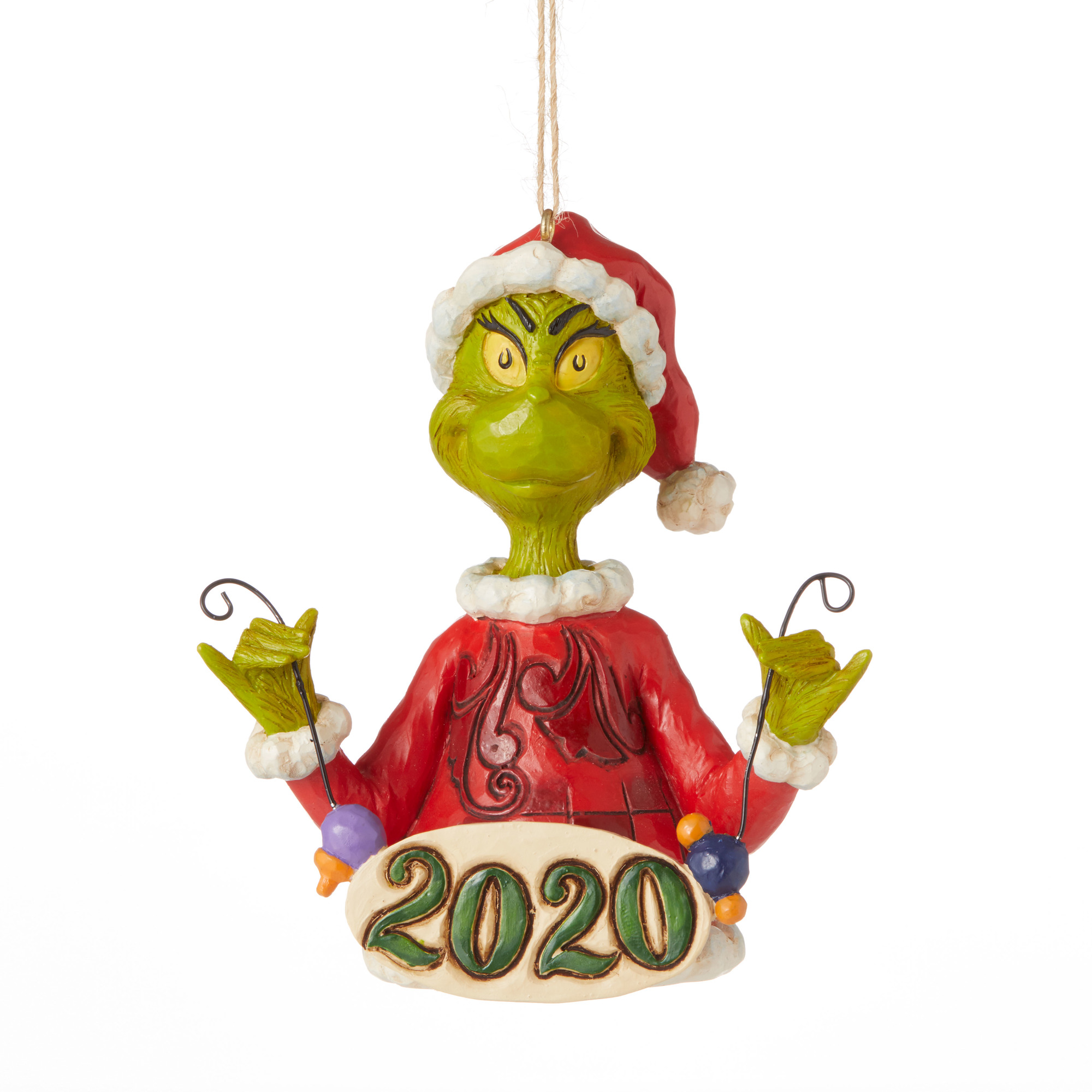 Jim Shore The Grinch 2020 Dated Ornament Christmas Store