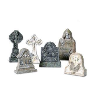 Dept 56 Halloween Village Tombstones