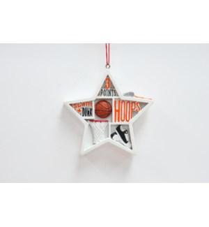 Sport Shadow Box Ornaments