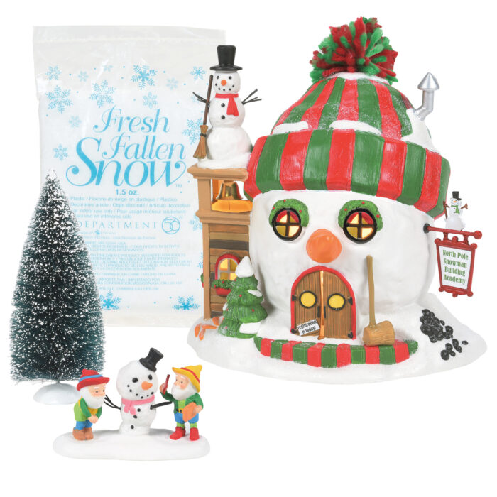 d56 North Pole Building Cheer Gift Set