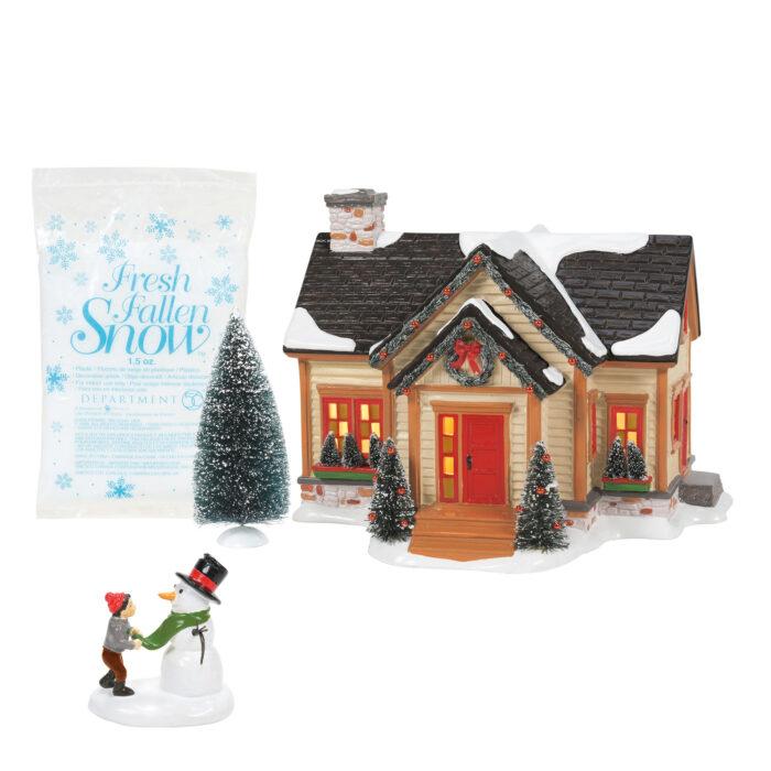 Dept 56 Snow Village Vuilding Christmas
