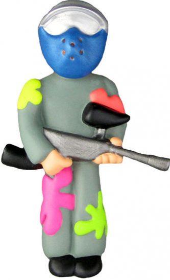 Paintballer Ornament