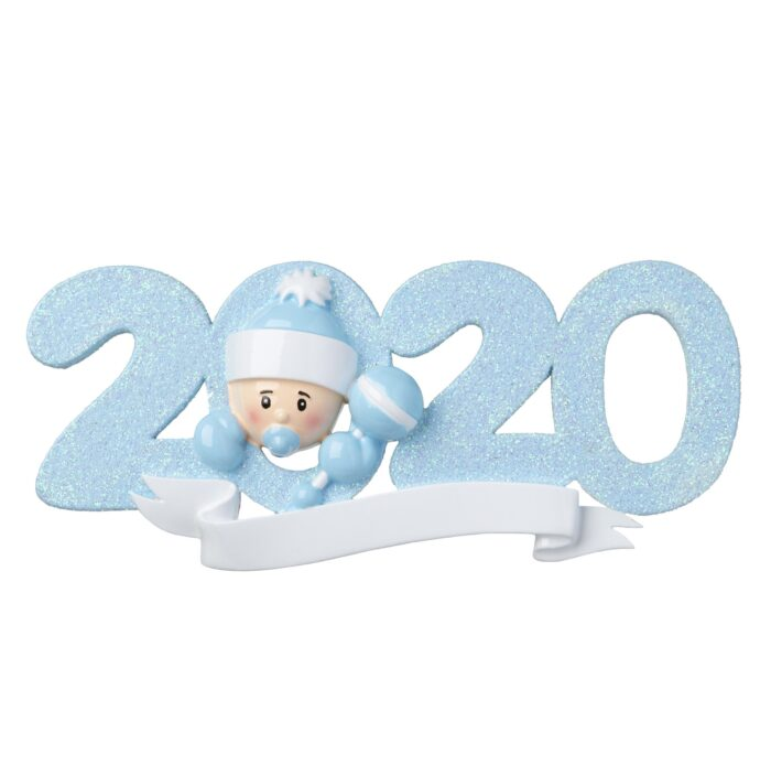 Pink or Blue 2020 Baby Ornament