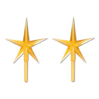 Gold Replacement Star for Ceramic Trees