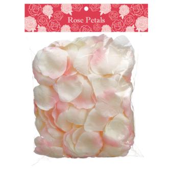Light Pink Rose Petal 300 Pieces Faux