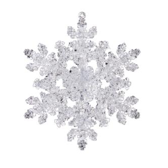 Snowflake Cracked Crystal Look