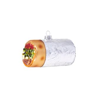 Burrito Wrapped Ornament