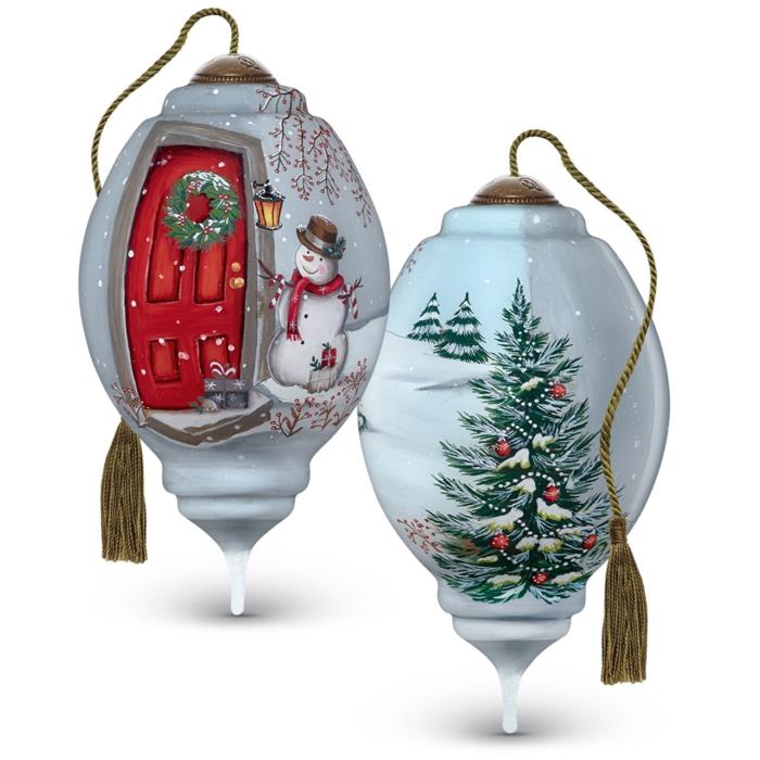 Christmas Caller NeQua Ornament