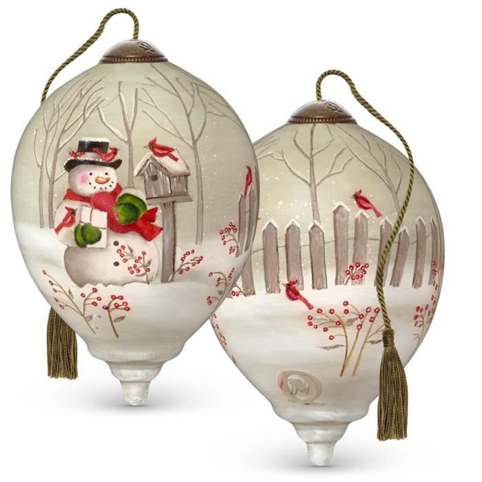 Holiday Greetings NeQua Ornament