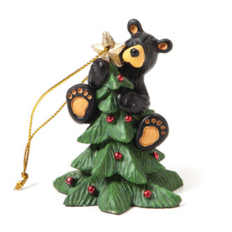 Bearfoot Bear on Christmas Tree Ornament