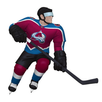 Colorado Avalanche Player Ornament