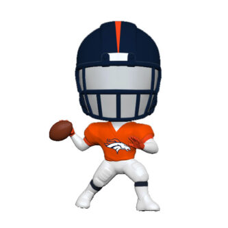 Denver Broncos Bouncing Buddy Ornament