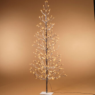 LED Warm White 6' all lights tree