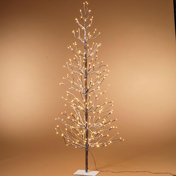 LED Warm White 6' all lights tree