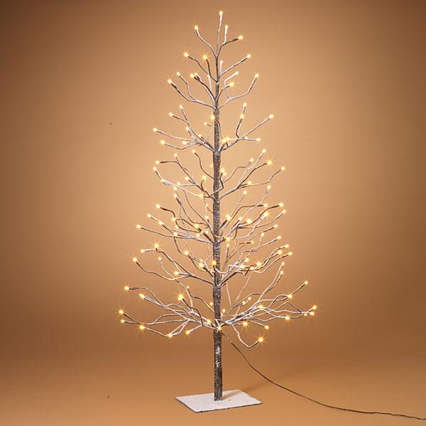 LED Warm White 4' all lights tree