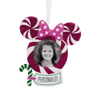 Minnie Mouse Photo Frame Ornament