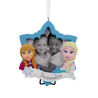 Frozen Frame with Elsa and Anna Ornament