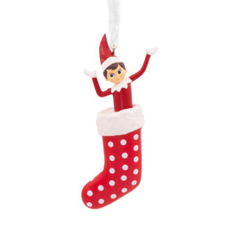 Elf on a Shelf Stocking Ornament