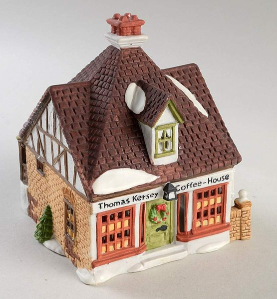 Dept. 56 Retired Dickens' Lane Series Thomas kersey Coffee House