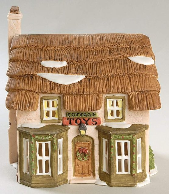 Dept. 56 Retired Dickens' Lane Cottage Toys