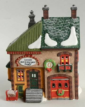 Orly's Bell & Harness Supply Dept. 56 Heritage Village North Pole Series