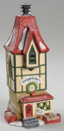Rimpy's Bakery Dept. 56 Heritage Village Retired North Pole Series